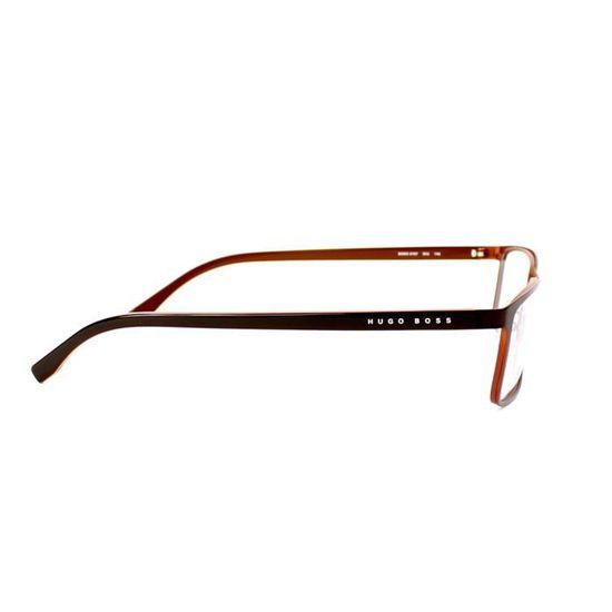acdc4d394046de Lunettes de vue Hugo Boss BOSS 0767 -QIU Marron - Achat   Vente lunettes de vue  Lunettes de vue Hugo Boss ... Homme Adulte - Cdiscoun