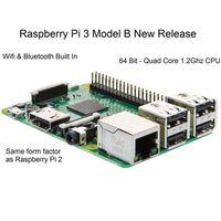 Raspberry Pi 3 Quad Core Modèle B 1Go RAM 1.2G 64Bit CPU Bluetooth WiFi à bord