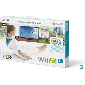 Wii Fit U Jeu Wii U +Wii Fit Meter + Balance Board