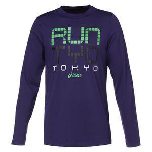 MAILLOT DE RUNNING ASICS T-shirt City Homme - Mauve