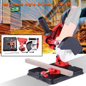 Dario Tools CMB133115 Support pour meuleuse dangle 115-125 cm Gris