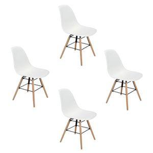 chaises achat vente chaises pas cher cdiscount. Black Bedroom Furniture Sets. Home Design Ideas