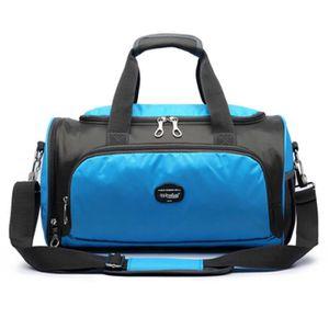Sac de sport haut de gamme sac de danse de yoga sac de voyage avec compartiment de chaussures, D