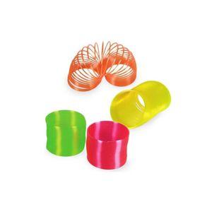 SPIRALE - TORTILLON Spirale en Plastique Néon Orange -  -