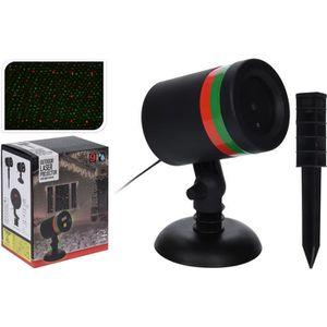 PROJECTEUR LASER NOËL Laser sur stick - Assortiment 2 couleurs