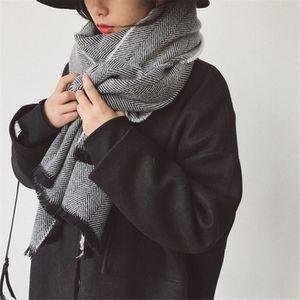 ECHARPE - FOULARD écharpe noir épaisse hommes femmes printemps autom 0a7961ad4b6