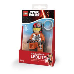 PORTE-CLÉS LEGO Star Wars Porte-clés LED Poe Dameron  - Pieds