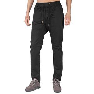 SURVÊTEMENT pantalons chino jogger pour hommes occasionnels kh 715450558da9