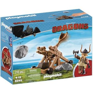 FIGURINE - PERSONNAGE PLAYMOBIL 9245 - Dragons Edition Limitée - Gueulfo