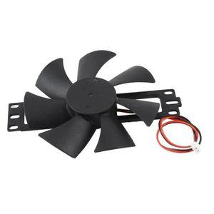 PLAQUE INDUCTION DV 18V lames en plastique Ventilateur de cuisinièr