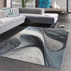 TAPIS Tapis MADILA bleu Tapis Moderne 200 x 290 cm