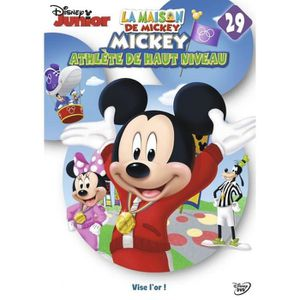 DVD DESSIN ANIMÉ La maison de Mickey 29 Mickey Athlète de haut nive