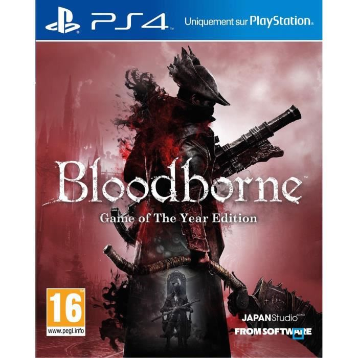 JEU PS4 Bloodborne Game of The Year Jeu PS4