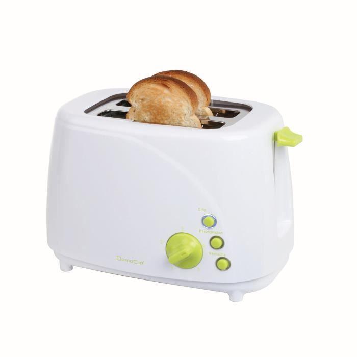 Grille pain petit format pour griller vos toasts en toutes facilités au petit déjeuner.GRILLE-PAIN - TOASTER