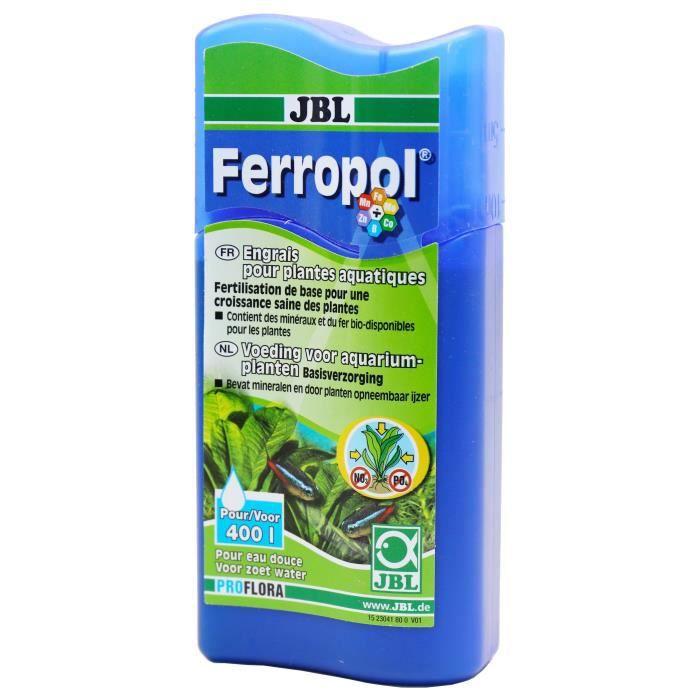 JBL Engrais liquide Ferropol - Pour plantes d'aquarium - 100ml