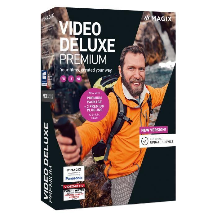 MULTIMÉDIA MAGIX Logiciel Video Deluxe Premium 2019