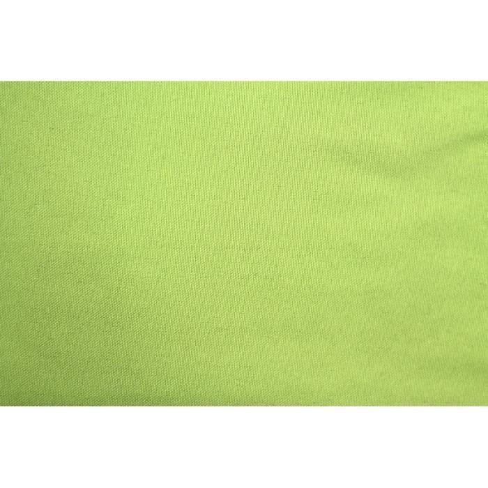 TISSU Tissu Burlington Uni 280cm Vert anis -Au Mètre