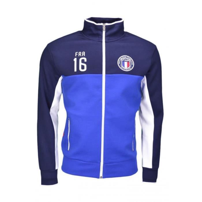 bfa5ee6dcd0a5 Veste zippée Ralph Lauren France pour homme Bleu Bleu - Achat ...