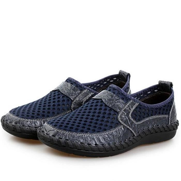 Ete 2017 Hommes Mode Rnettes Loafe Taille Nouvelle Moccasins Luxe Qualit Grande Chaussure Marque Homme De ZqwAAY