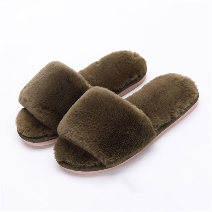 Plusieurs Orteil Chaussons Femme Chaussure Chausson Fluffy 2018 Vert 29 34 Expos Taille Confortable Plus Peluche Couleurs Hiver Wz0nqCd0x