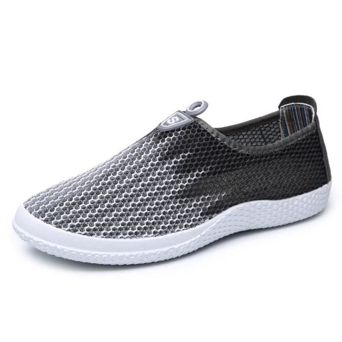 Chaussures D'eau Séchage Rapide Mesh Respirant Slip-on Sneaker Taqqh Taille-39