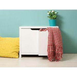 petit meuble blanc laque achat vente pas cher. Black Bedroom Furniture Sets. Home Design Ideas