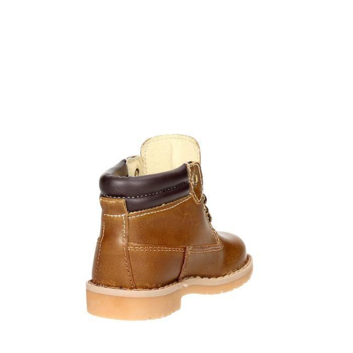 Melania Boots Garçon Marron cuir, 20