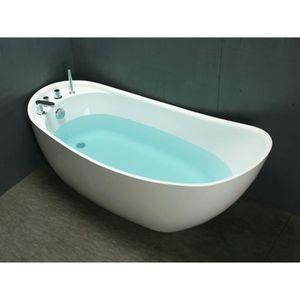 baignoire ilot achat vente baignoire ilot pas cher soldes d s le 10 janvier cdiscount. Black Bedroom Furniture Sets. Home Design Ideas