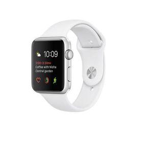 MONTRE CONNECTÉE APPLE Watch 42mm - Boîtier en aluminium gris avec