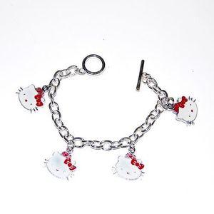 Bracelet en forme de hello kitty