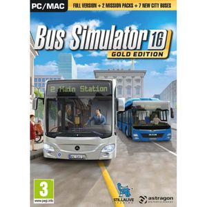 JEU PC Bus Simulator 2016 Gold Edition (PC) - Import Angl