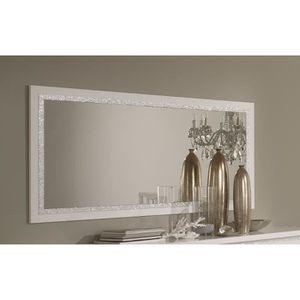 Miroir De Salle A Manger Design 180 Cm Laque Blanc Medusa L 180 X H