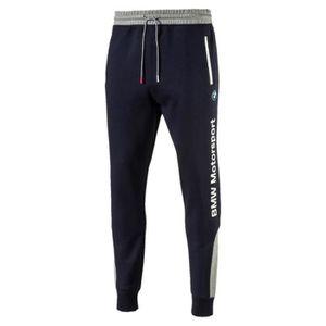 PANTALON DE SPORT Puma Pantalon Bmw Msp Sweat Bleu Pantalon Homme Mu