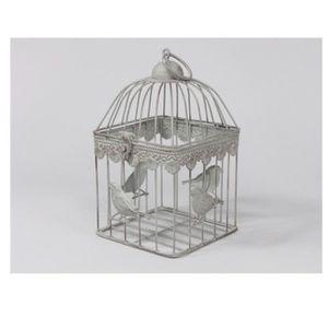 cage a oiseaux decorative achat vente cage a oiseaux decorative pas cher cdiscount. Black Bedroom Furniture Sets. Home Design Ideas