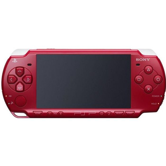 CONSOLE PSP CONSOLE SONY PSP-3004 ROUGE