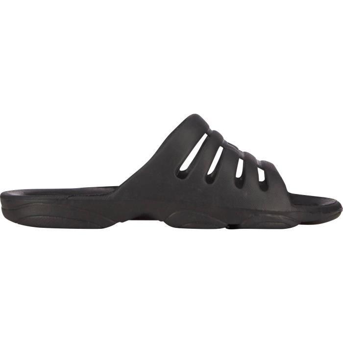 ATHLI-TECH Sandales de Piscine Hydroclaq - Homme - Noir