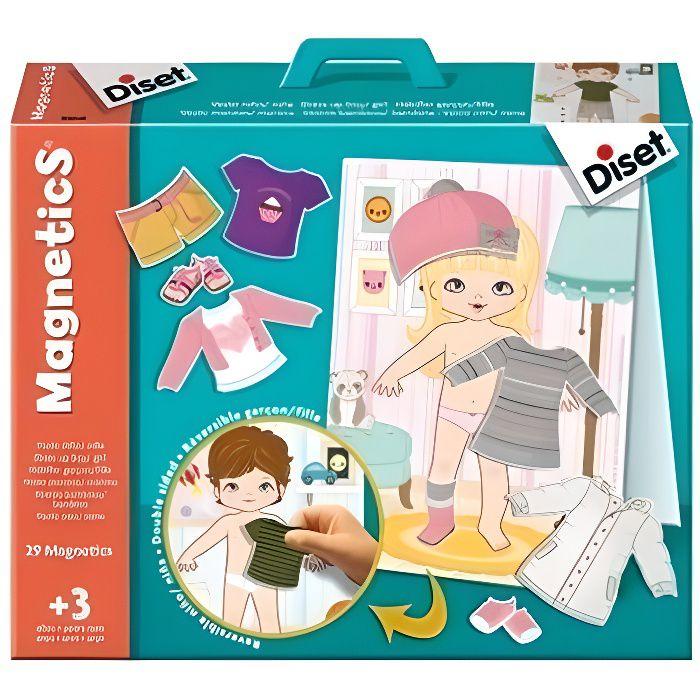 DISET Magnetics - Les Habits - Réversible garçon et fille
