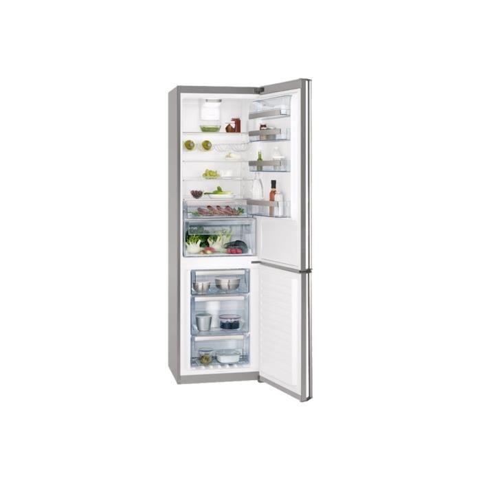 Aeg s83920ctx2 r frig rateur cong lateur pose libre for Refrigerateur congelateur hauteur 170 cm