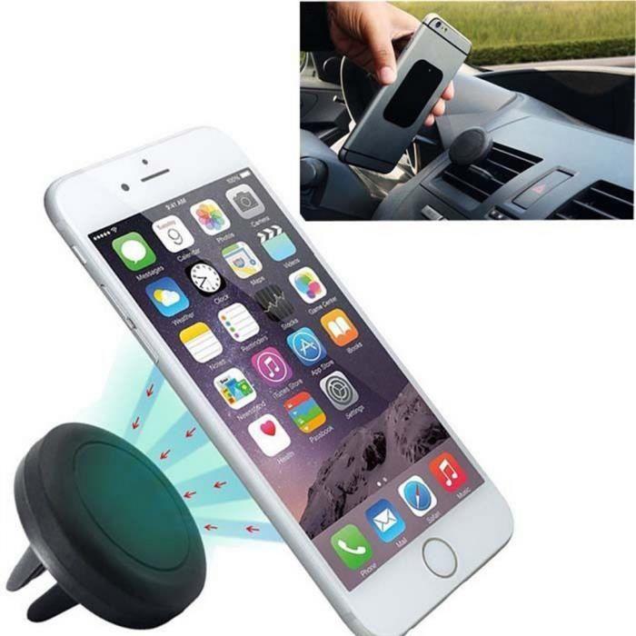 voiture de mount titulaire évent magnétique téléphone mobile iphone gps don