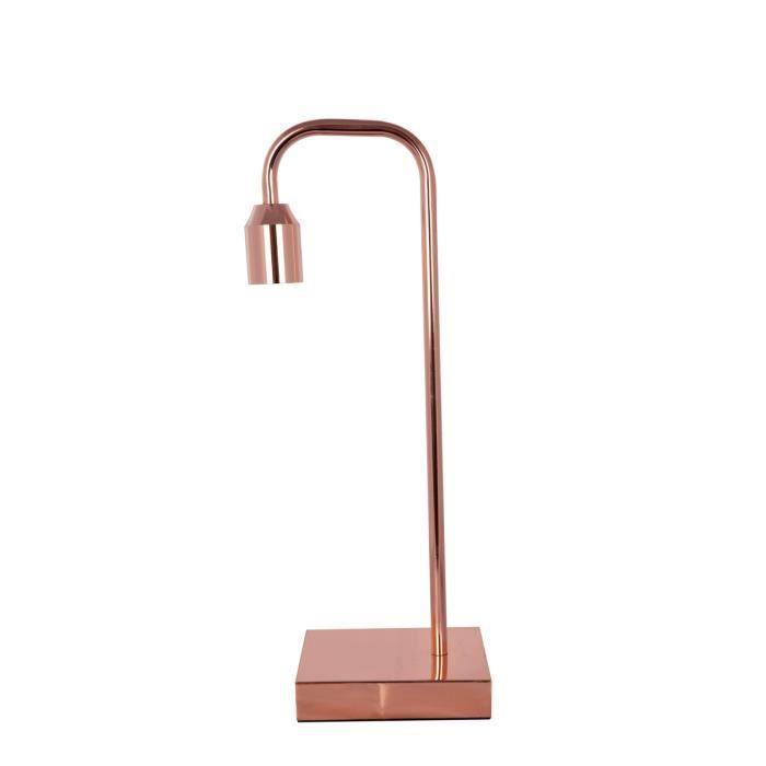 Tichlampe Cuivre Table Ampoule Vintage Moderne Achat Vente Lampe