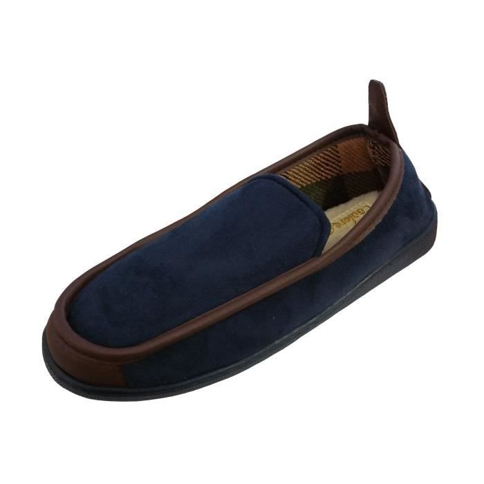 Doublure en Microsuede Homme Coolers Chaussons Polaire wCZncEWFgq