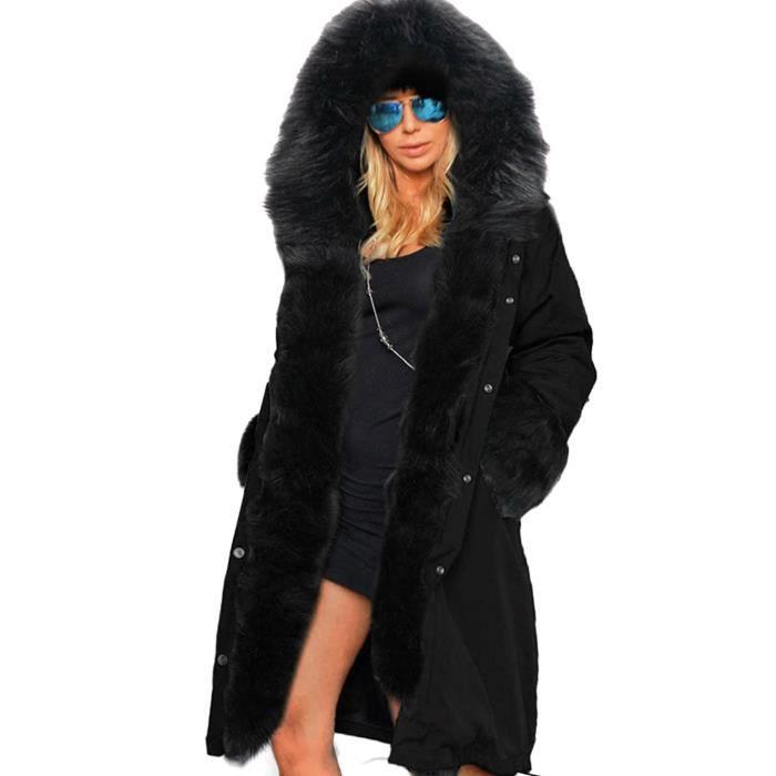 manteau femme fausse fourrure achat vente pas cher soldes d s le 10 janvier cdiscount. Black Bedroom Furniture Sets. Home Design Ideas