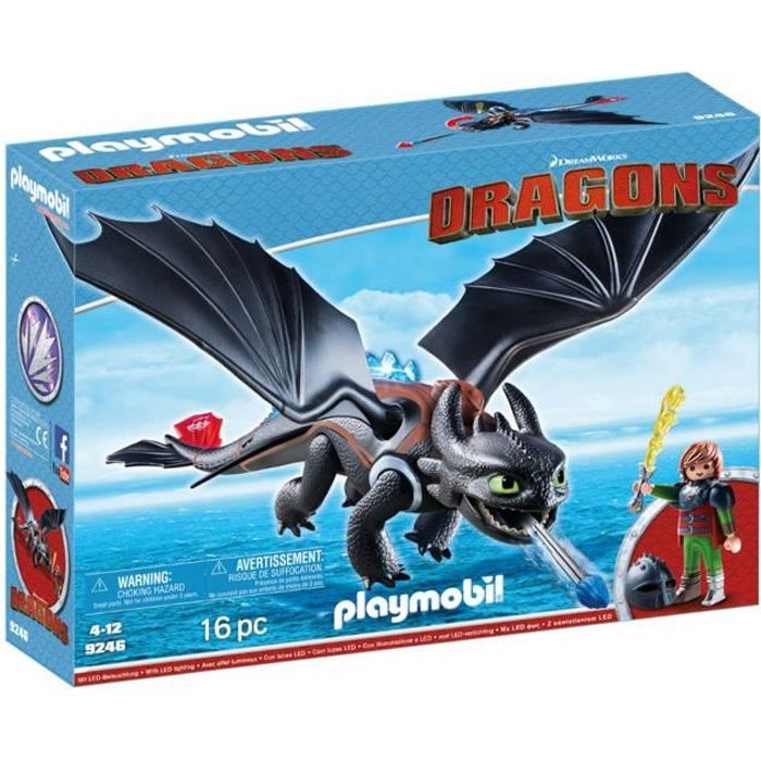 FIGURINE - PERSONNAGE PLAYMOBIL 9246 - Dragons Edition Limitée - Harold