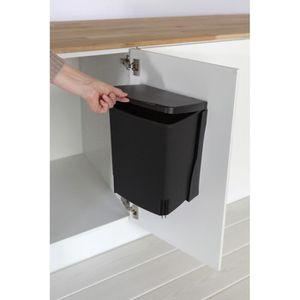 poubelle rectangulaire achat vente poubelle rectangulaire pas cher cdiscount. Black Bedroom Furniture Sets. Home Design Ideas