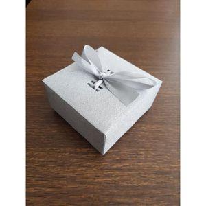 BOÎTE À DRAGÉES boite à gâteau forme cadeau avec ruban pour mariag