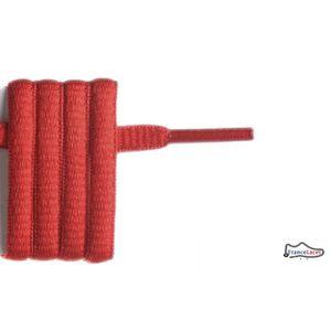 LACET  lacet ovale rouge 130 cm