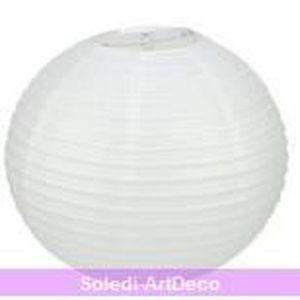 perfect photophore lanterne lanterne japonaise boule de cm en papier blanc with boule japonaise ikea. Black Bedroom Furniture Sets. Home Design Ideas
