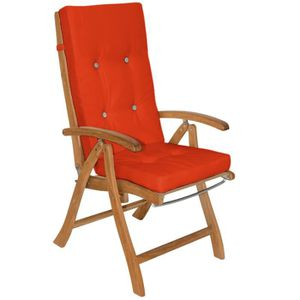 Coussin fauteuil jardin dossier haut - Achat / Vente pas cher