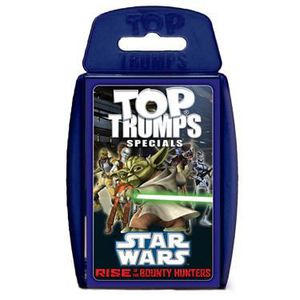 CARTE A COLLECTIONNER Star Wars Clone Wars III Top Trumps *ANGLAIS*