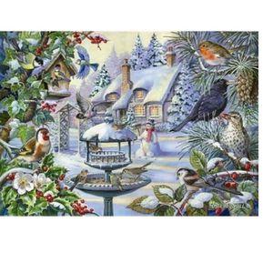 PUZZLE Puzzle 500 pièces Pièces XXL - Winter Birds